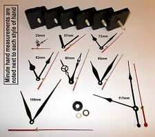 Replacement Quartz Clock Mechanism, Multiple Movement / Hands, DIY Repair Kit