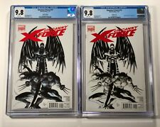 Uncanny X-Force #15 CGC 9.8 Variant X2 - 1:26 & 1:52 Sketch 2011 Marvel Comics