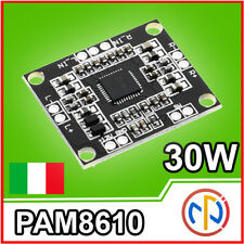 MODULO AMPLIFICATORE AUDIO 30W class D PAM8610