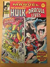 MARVEL COMICS GROUP INTERNATIONAL 250 INCREDIBLE HULK & DRACULA LIVES, 10P, 1977
