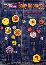 E-Z Play Today 42 Baby Boomer's - facile Tastiera Musica LIBRO EZ BIG nota 60s 70s
