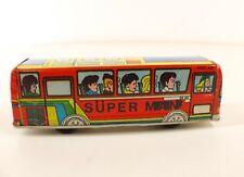 Gürel Turkmali Turquie bus autobus Mercedes SR140 Super Man tôle Rare 15 cm