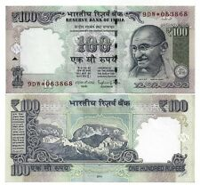 INDIA 100 RUPEES 2014 STAR REPLACEMENT LETTER R UNC P 105
