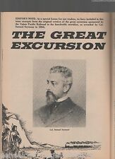 The Great Excursion of the Union Pacific Railroad+Seymour,Durant,Hoxie,Taylor