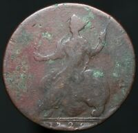 1729 | George II Half-Penny | Copper | Coins | KM Coins