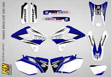 MX Graphics Stickers Kit Decals Yamaha WR450F-250F 2003-2004