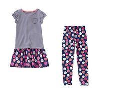 NWT Gymboree EVERYDAY FAVORITE Sketched Dot Striped Dress & Leggings Set Sz 8