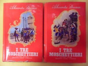 tre moschettieri 2 volumi incisioni originali di maurice leloir dumas
