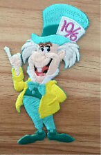 Mad Hatter - Alice In Wonderland - Disney - Embroidered Iron On Applique Patch B