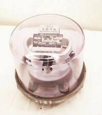 Vtg Westinghouse Electric Utility Usage Meter Kw Analog 120v 15 Amp Glass Globe