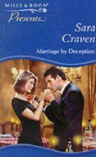 Marriage by Deception (Presents),Sara Craven