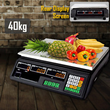 More details for 40kg digital fruit scales electronic veg weighing commercial shop retail price