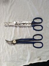"VINTAGE CARTWRIGHT  Forged Alloy Steel #212  OFFSET TIN SNIPS-11 3/4"" - ONE PAIR"