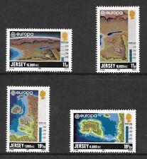 JERSEY MNH UMM STAMP SET 1982 SG 289-292 EUROPA HISTORIC EVENTS