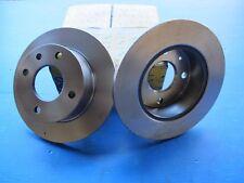2 Disques de freins avant Lucas pour Ford Sierra 1.3 et 1.6 01/82->08/84