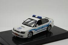 Rare !! Subaru B4 Israel Police Custom Made Auto Art 1/43