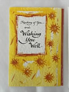 New Blue Mountain Arts Card GET WELL Greeting thinking of you Diana Marino