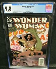 Wonder Woman #155 (2000) Adam Hughes Cover CGC 9.8 White Pages CW201