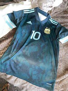 argentina maradona jersey mens small climalite