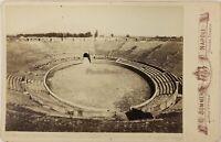 Pompei Anfiteatro Italia Foto Sommer PL17c2n22 Armadio Vintage Albumina