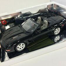 BBURAGO Chevrolet Corvette Convertible 1998 Gold Edition 1/18 Die Cast Metal BLK