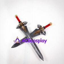 Monster Hunter double Swords prop Cosplay Prop PVC made ACGcosplay