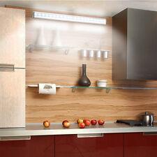 20 LED Cabinet Mirror Lights  Motion Sensor Stick-on bar for Closet Rechargeable