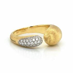 Authentic Marco Bicego Lucia 18k Yellow Gold Diamond Ring Size: 7 »U59 $3000