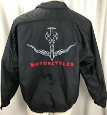 Orange County Choppers Mens Full Zip Embroidered Lightweight Jacket Sz Small