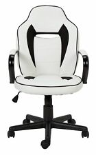 HOME Mid Back Gaming Chair - White