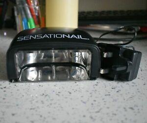 SensatioNail Automatic Sensing LED Lamp 3060 and Kit Bag Manicure Pedicure Gel