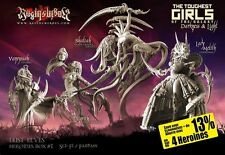 Raging Heroes Lust Elves Box Set 28mms - Dark Elves