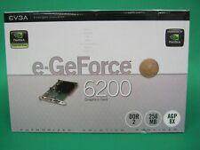 EVGA GeForce 6200 Graphics Card 256MB DDR2 P/N:256-A8-N341-LX New Open Box