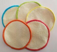 disque à démaquiller 100 % coton bio, écologique en vrac, couleur