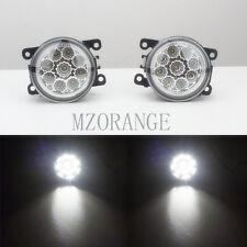 Fog Lamps For Citroen C3 C4 C5 C6 C-Crosser JUMPY Xsara Picasso DRL 6000K CCC