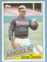 1985 Topps #200 Reggie Jackson California Angels
