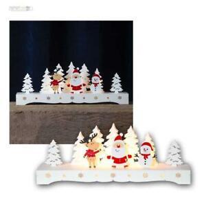 """LED Éclairage pour fenêtres """"Rudolf"""" Batterie, Arches, Arc lumineux en bois"""