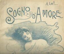 Spartito Sogno d'Amore Valzer per Pianoforte di Nicola Vallillo Edizioni Maurri