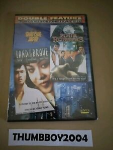 *New Sealed DVD* LAND OF THE BRAVE + FOUR ROBBERS  (Martial Arts Movies Pack)