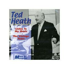 TED HEATH LISTEN TO MY MUSIC NEW CD BIG BAND SWING DANCE SOUND 24 TRACKS