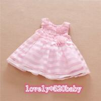 "Beautiful Reborn Clothing Newborn Dress 20-22"" Baby Girls Doll Pink Clothes Sets"