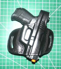 Tagua BH1M-1025 RH Leather Thumb Break Belt Holster Walther PK380 P22 No Laser
