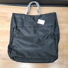 Authentic GANT Black Nylon Leather 48 Hour Zippered Tote Travel Large Bag f75c6b6373