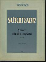 """Schumann : """" Album für die Jugend """" Op. 68 Hrsg. Otto Sonnen"""