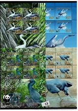/ PENRHYN - MNH - WWF - NATURE - BIRDS - EFRETS - PLANTS