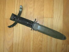 Vintage genuine Korean War era US Army M1 Carbine bayonet with M8A1 scabbard !!!