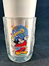 New listing Collectible Walt Disney World Mickey Mouse Millennium 2000 Glass McDonalds