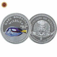WR Collectible Burundi 2014 Commemorative Coin Regal Tang Sea's Amazing Wildlife