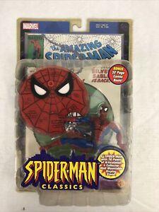 "Spider-Man Classics 6"" Amazing SpiderMan Figure Marvel Legends 2000 ToyBiz New"