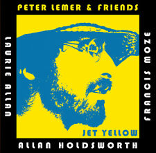 PETER LEMER, LAURIE ALLAN, FRANCIS MOZE, ALLAN HOLDSWORTH - JET YELLOW CD - 2019